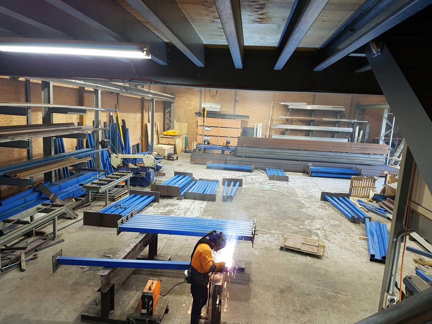 Mezzanine Floor Specialist workshop